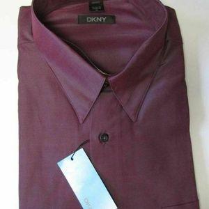 NWT DKNY The Uptown Dress Shirt 16 34/35